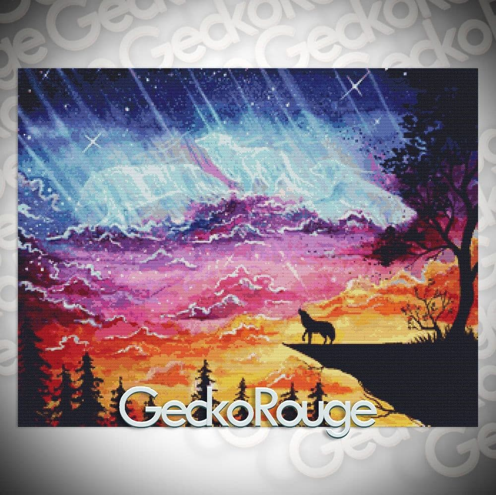 Dancing With The Sky Cross Stitch Kit By Scandy Girl (SCDNCG)