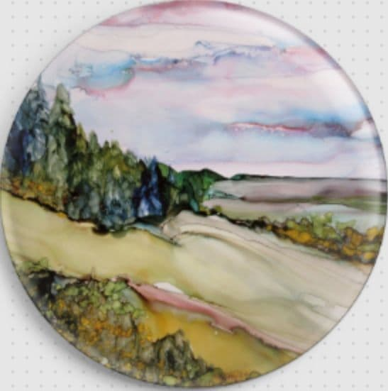 Dreamscape By Rosie Brown Licensed Art Needle Minder