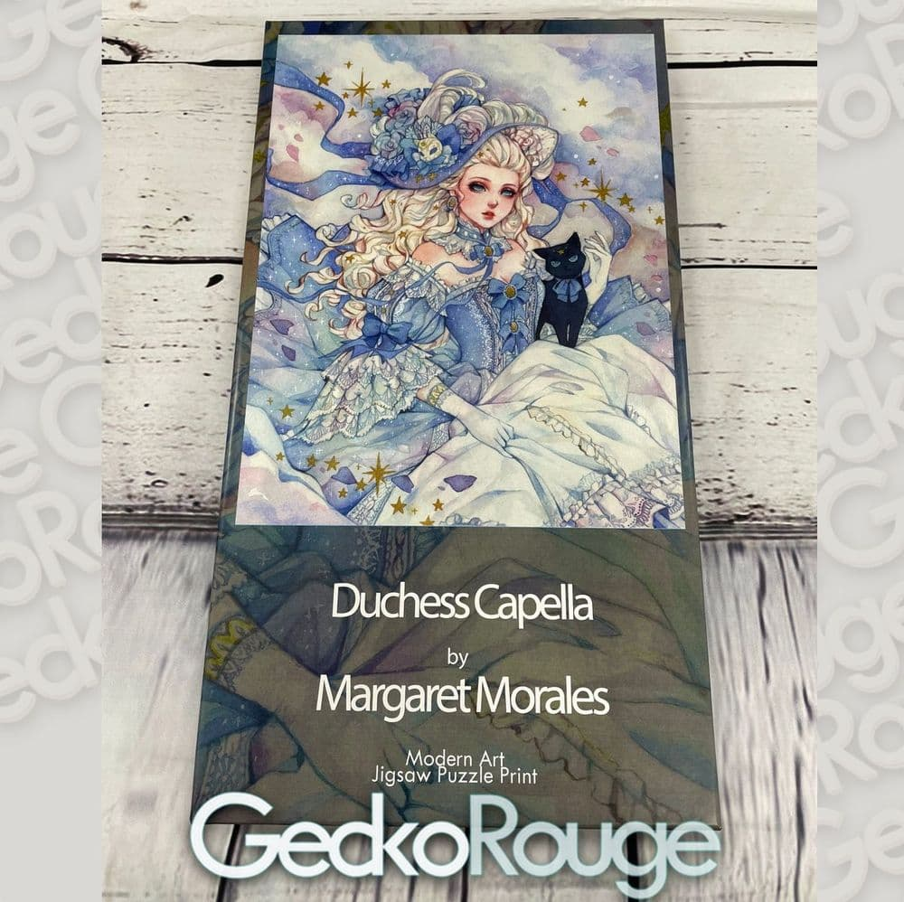 Duchess Capella by Margaret Morales  Art Jigsaw Puzzle Print [READY TO SHIP]