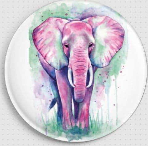 Elephant By Emily Luella Licensed Art Needle Minder