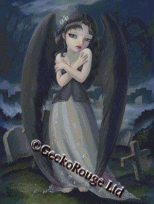 Fallen Angel By Simona Candini Cross Stitch Kit