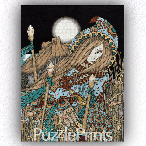 Fortune & Favour Art Jigsaw Puzzle Print by Anita Inverarity