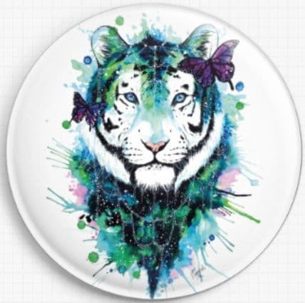 Galaxy Tiger Licensed Art Needle Minder By Scandy Girl