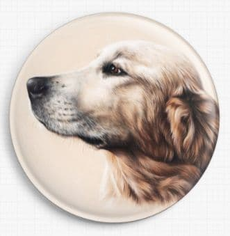 Golden Labrador By Irina Garmashova-Cawton Needle Minder