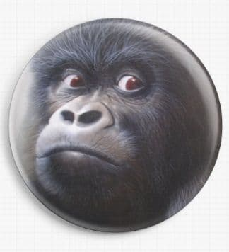 Gorilla By David Finney Licensed Art Needle Minder