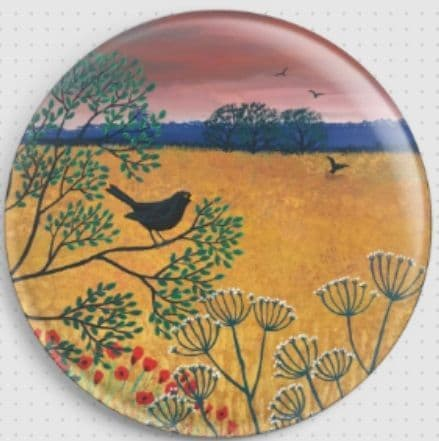 Harvest Song By Jo Grundy Needle Minder - 1 Bird (JGYHRVST)