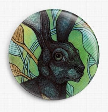 Hidden Hare By Lynnette Shelley Licensed Art Needle Minder