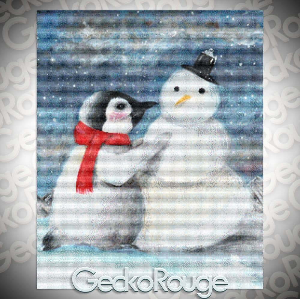 His Favorite Time Of Year By Candace McKay Cross Stitch Kit