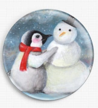 His Favourite Time Of Year By Candace McKay Licensed Art Needle Minder