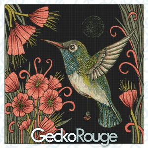 Jewel Cross Stitch Kit by Anita Inverarity