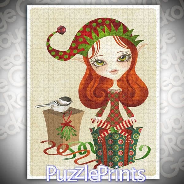 Jolybelle Art Jigsaw Puzzle by Sandra Vargas and Puzzle Prints