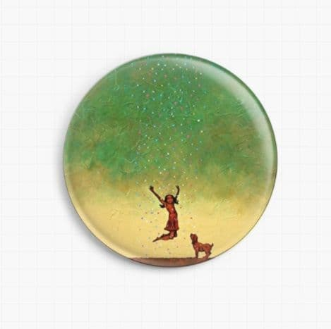 Joy By Robert Bretz Licensed Art Needle Minder
