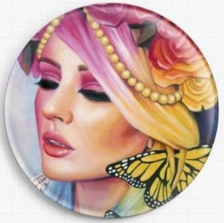 Kelly Eden By Emily Luella Licensed Art Needle Minder