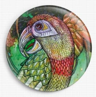 Laughing Parrot By Lynnette Shelley Licensed Art Needle Minder