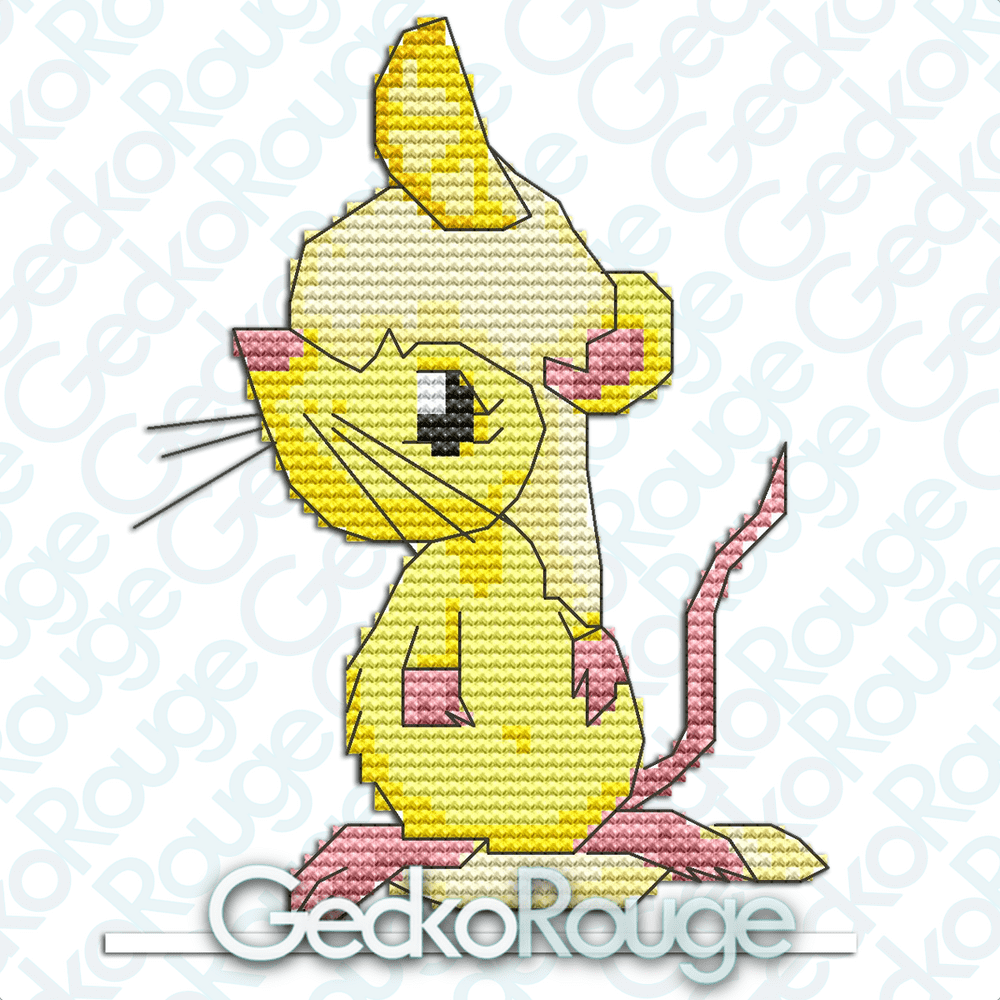 Lemon Mousse by Sugar & Spice, All Things Mice [READY TO SHIP]