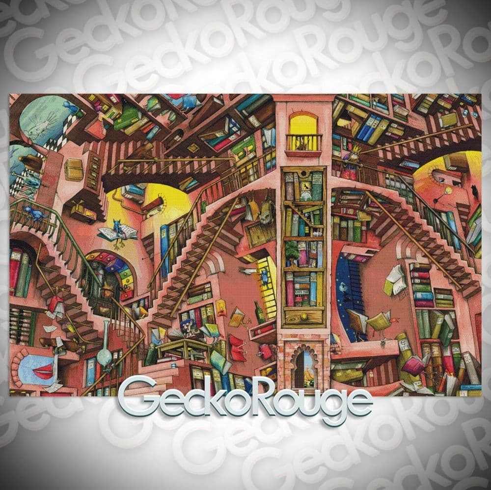 Library By Colin Thompson Cross Stitch Kit - Extra Large Kit (13008)
