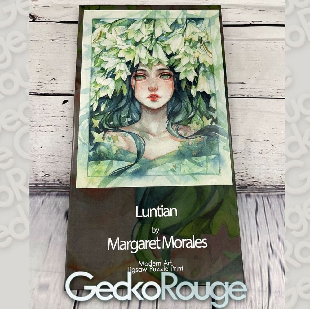 Luntian by Margaret Morales  Art Jigsaw Puzzle Print [READY TO SHIP]
