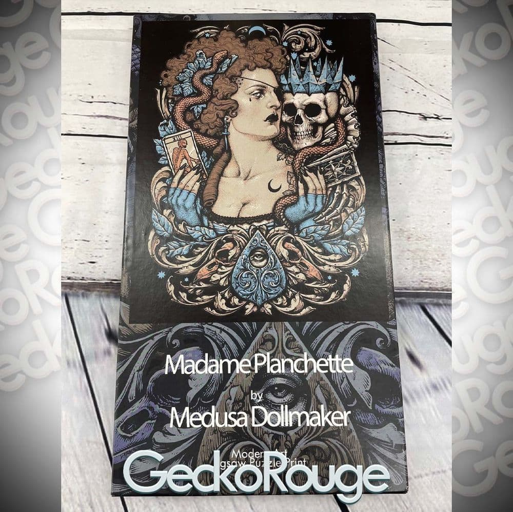 Madame Planchette Jigsaw Puzzle by Medusa Dollmaker [READY TO SHIP]