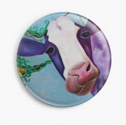 MOO Licensed Art Needle Minder By Laura Barbosa