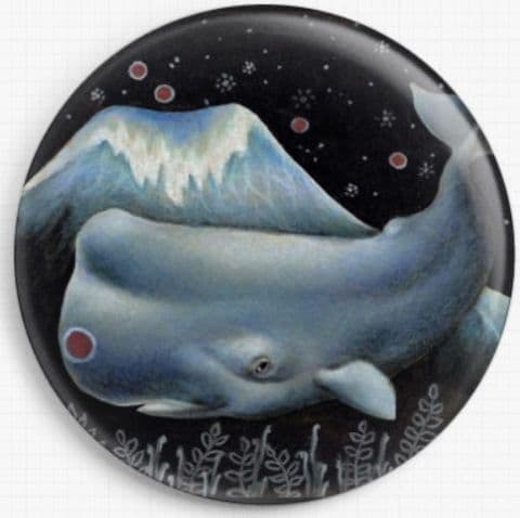 Mr Whale By Tanya Bond Licensed Art Needle Minder