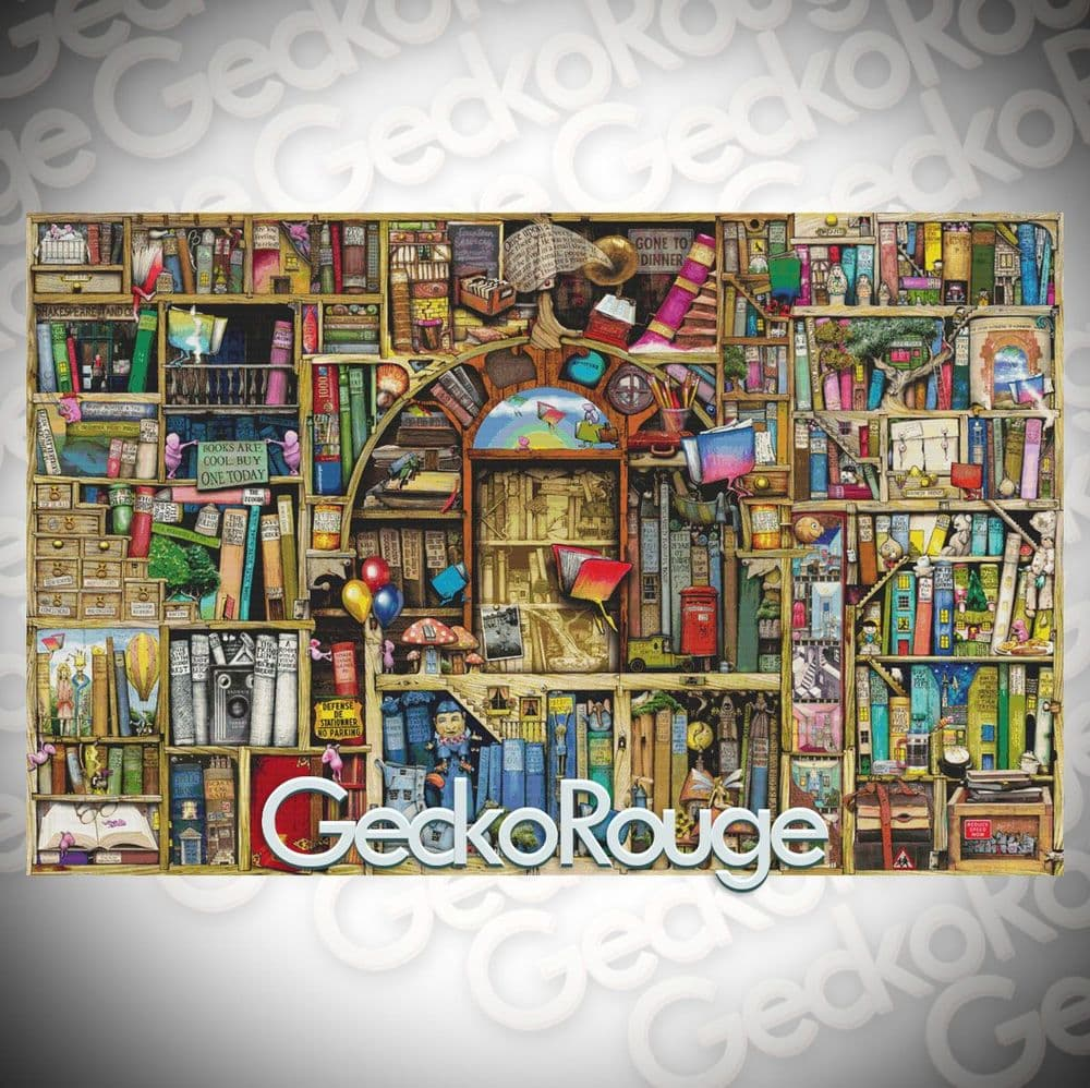 Neverending Stories By Colin Thompson Cross Stitch Kit - Extra Large Kit