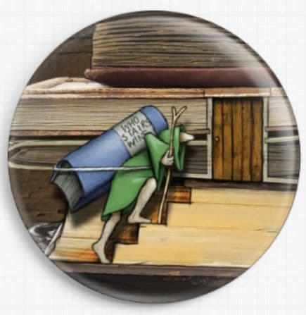 Neverending Stories By Colin Thompson Licensed Art Needle Minder 04