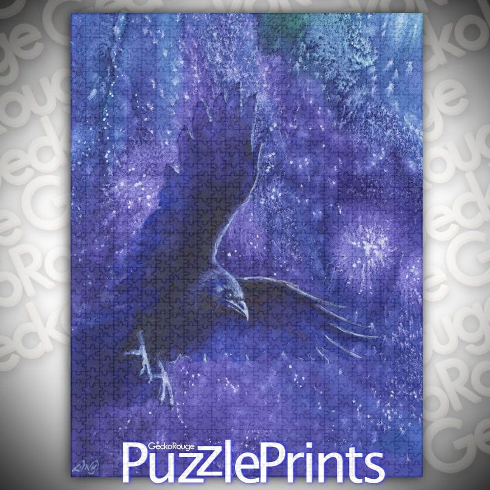 Night Watchman Jigsaw Puzzle by Lesley D McKenzie