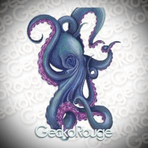 Octopus By Dany Lizeth Cross Stitch Kit (DLZOCT)