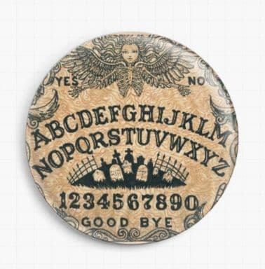 Ouija Board By Shayne Of The Dead Licensed Art Needle Minder