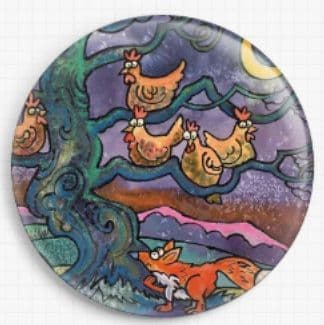 Out Foxed By Dorian Davies Spencer Art Needle Minder
