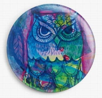 Owl By Pamela Varacek Licensed Art Needle Minders