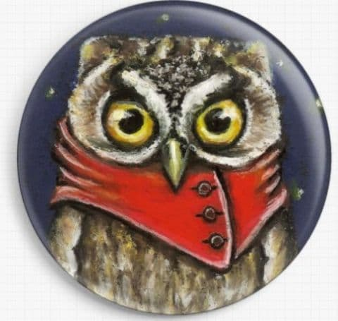 Owly By Tanya Bond Licensed Art Needle Minder