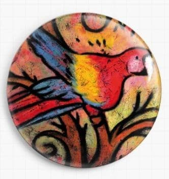 Parrot Song By Lindy Gaskill Licensed Art Needle Minder