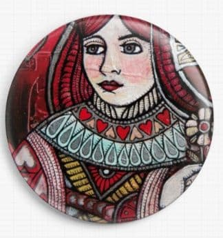 Queen of Hearts By Lynnette Shelley Licensed Art Needle Minder