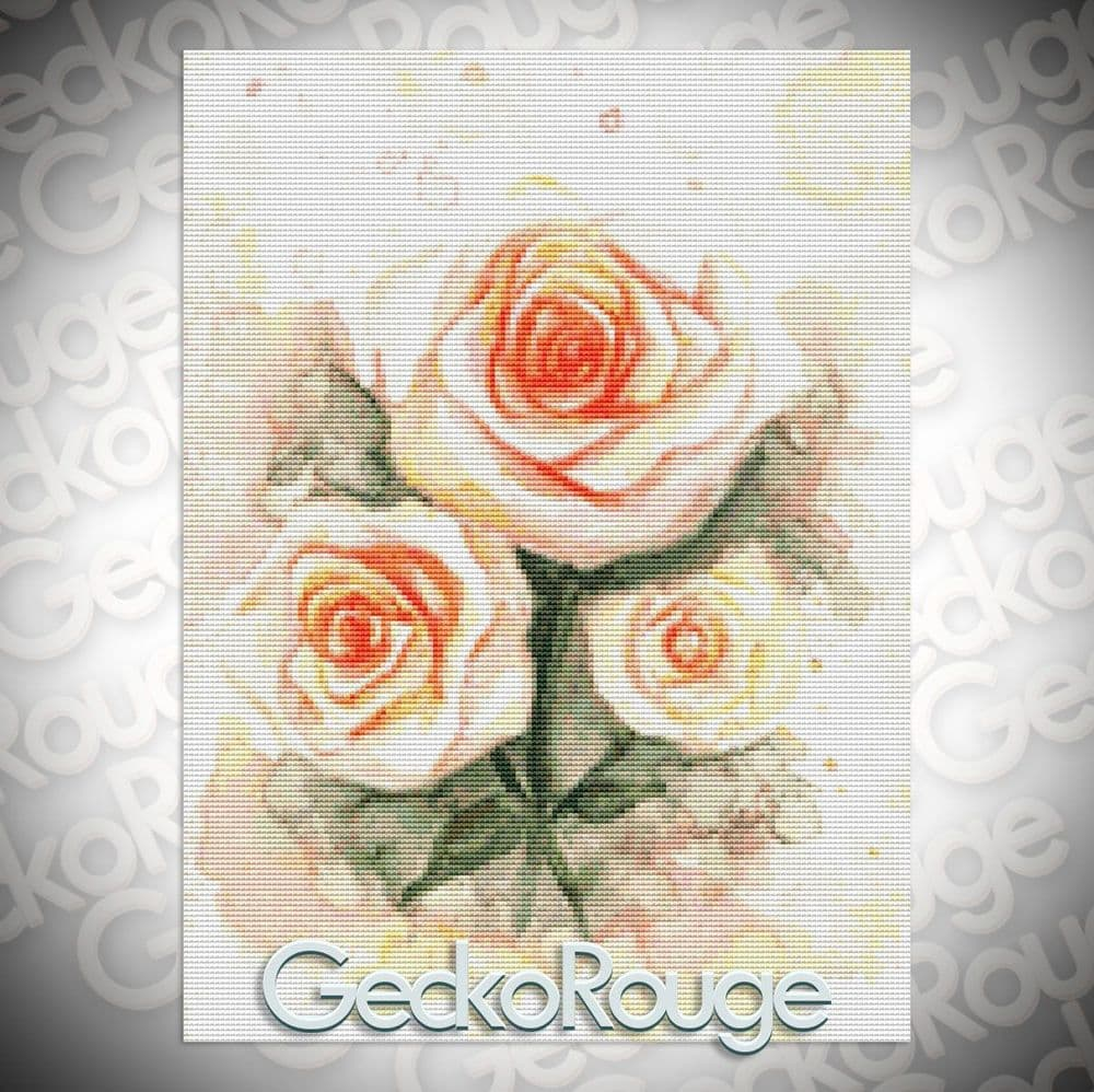 Roses By Emily Luella Cross Stitch Kit
