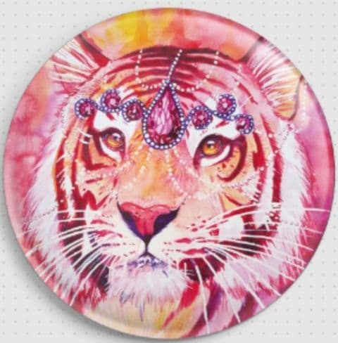 Ruby Licensed Art Needle Minder By Scandy Girl