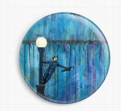 Singing In The Rain By Robert Bretz Licensed Art Needle Minder