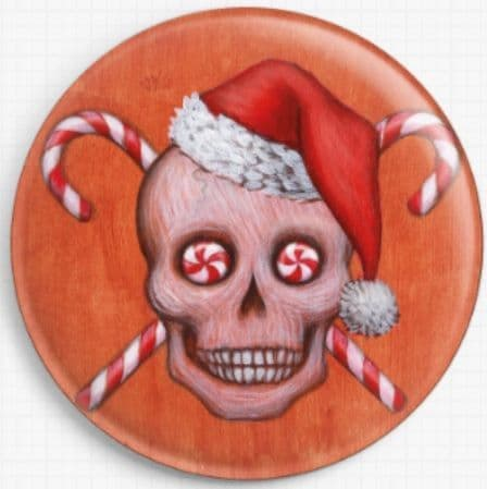 Skull Candy Canes By Eya Claire Floyd Needle Minder