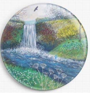 Snow Drop Waterfall By Jo Grundy Needle Minder