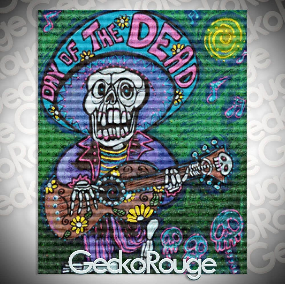 Song of the Dead By Laura Barbosa Cross Stitch Kit (LBBET) (1)