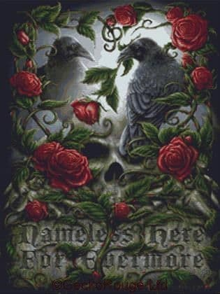 Sorrow For The Lost By SheBlackDragon Cross Stitch Kit
