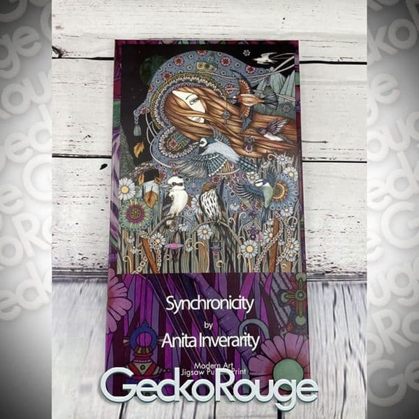 Synchronicity Art Jigsaw Puzzle Print by Anita Inverarity [READY TO SHIP]