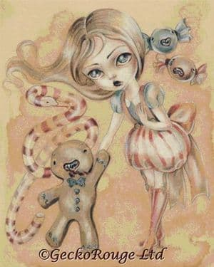 The Candy's Brigade By Simona Candini Cross Stitch Kit