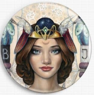 The High Priestess By Tanya Bond Licensed Art Needle Minder