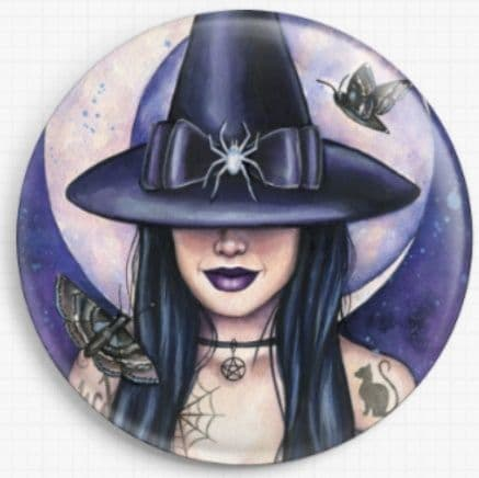 The Witching Hour By Emily Luella Licensed Art Needle Minder