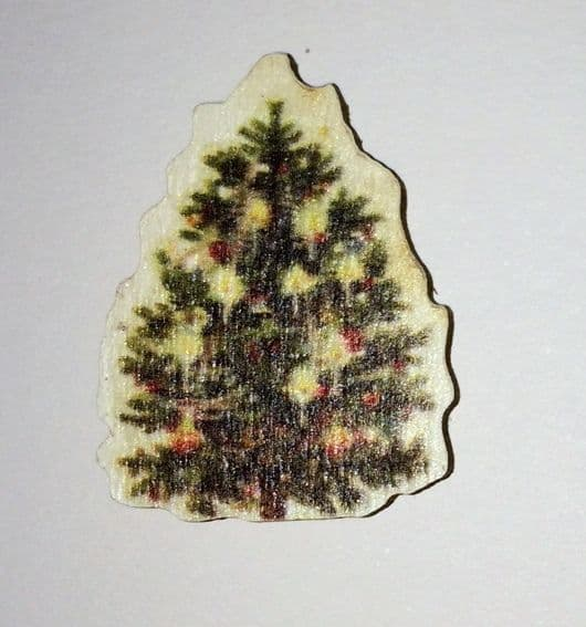 Tree - Wooden Needle Minder