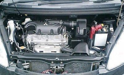 MITSUBISHI COLT 4G15 MIVEC ENGINE