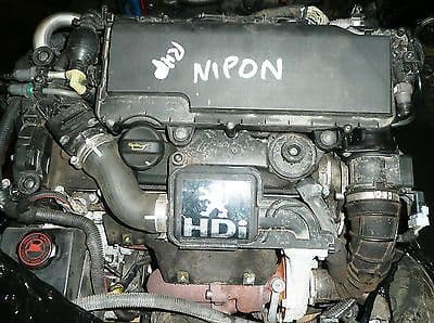 PEUGEOT 307 8HZ 1.4 HDI TURBO DIESEL ENGINE
