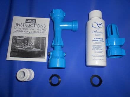 Waterbed Draining and Filling Pump Set and Conditioner