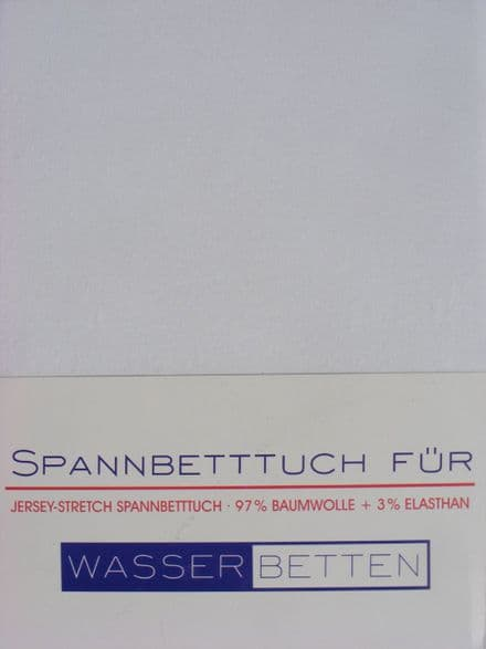 Waterbed Sheets 97% Cotton for Large King Size Bed -  quality products made in Germany